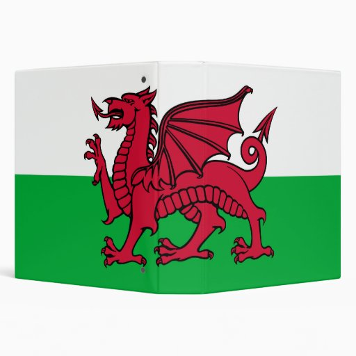 Flag of Wales Avery Binder