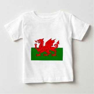 Flag of Wales Baby T-Shirt