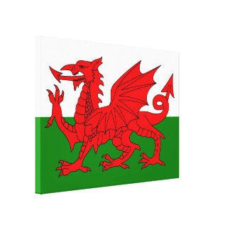Flag of Wales Canvas Print