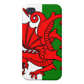 Flag of Wales iPhone 4/4S Covers