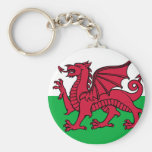 Flag of Wales Key Chains
