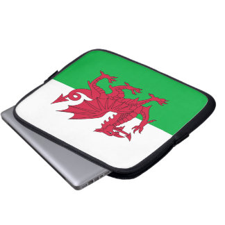 Flag of Wales Laptop Sleeve