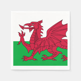 Flag of Wales Paper Napkins