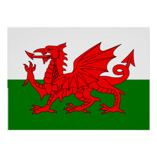 Flag of Wales Poster