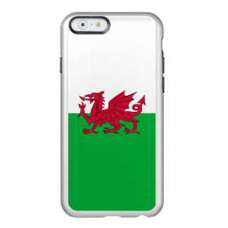 Flag of Wales Silver iPhone Case