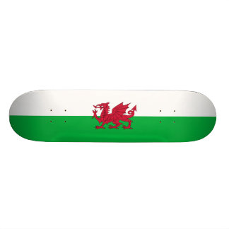 Flag of Wales Skateboard