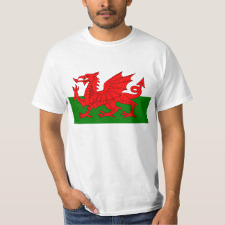 Flag of Wales T Shirt