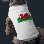 "Flag of Wales - The Red Dragon - Baner Cymru T-Shirt<br><div class=""desc"">Flag of Wales - The Red Dragon - Baner Cymru</div>"