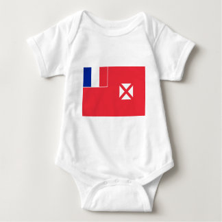 Flag of Wallis and Fortuna Baby Bodysuit