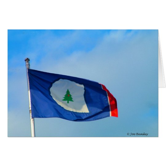 Flag of Warren County Tennessee Card