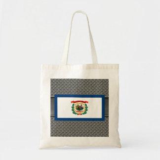 Flag of West Virginia Budget Tote Bag