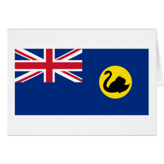 Flag of Western Australia Card