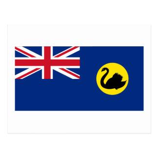 Flag of Western Australia Postcard
