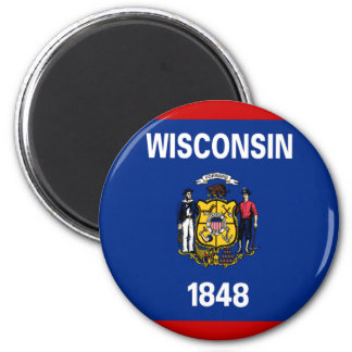 Flag of Wisconsin Magnet
