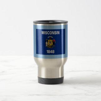 Flag of Wisconsin Coffee Mugs