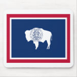 Flag of Wyoming Mouse Pad
