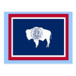 Flag of Wyoming Postcard