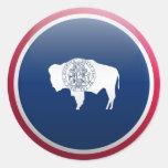 Flag of Wyoming Sticker
