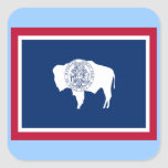 Flag of Wyoming Stickers