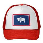 Flag of Wyoming Trucker Hat