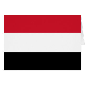 Flag of Yemen Card