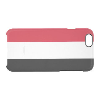 Flag of Yemen Clear iPhone Case