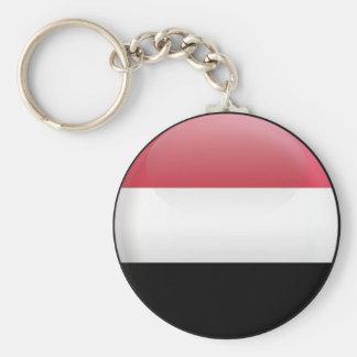 Flag of Yemen Keychain