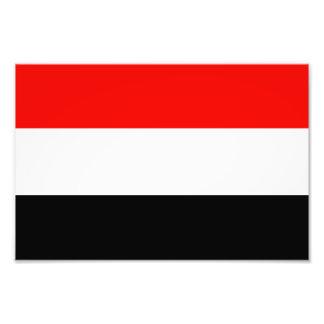 Flag of Yemen Photo Print
