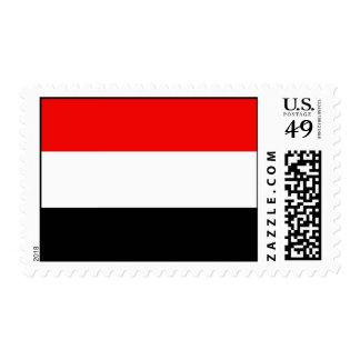 Flag of Yemen Postage Stamp