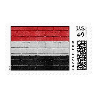 Flag of Yemen Stamp