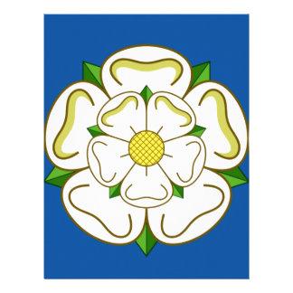 Flag of Yorkshire Letterhead