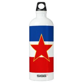 Flag of Yugoslavia Aluminum Water Bottle