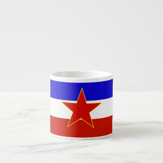 Flag of Yugoslavia Espresso Cup