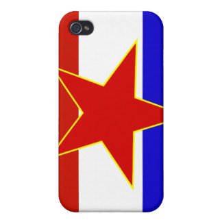 Flag of Yugoslavia iPhone 4/4S Cover