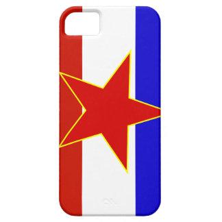 Flag of Yugoslavia iPhone SE/5/5s Case
