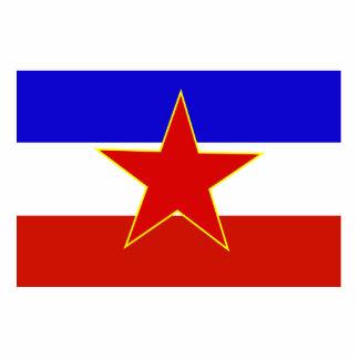 Flag of Yugoslavia Photo Sculpture