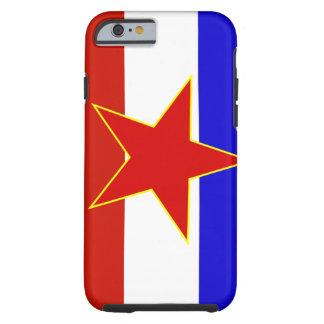 Flag of Yugoslavia Tough iPhone 6 Case