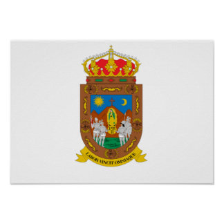 Flag of Zacatecas Poster