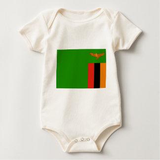 Flag of Zambia Baby Bodysuit