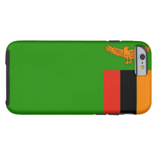Flag of Zambia Tough iPhone 6 Case