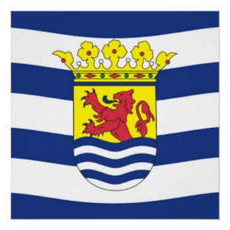Flag of Zeeland Poster