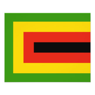Flag of Zimbabwe African National Union Flyer