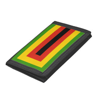 Flag of Zimbabwe African National Union Trifold Wallet