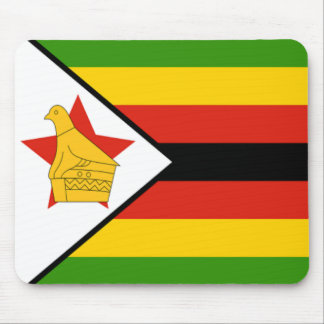 Flag of Zimbabwe Mouse Pad