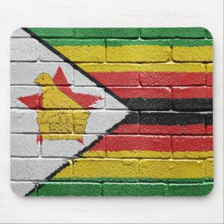 Flag of Zimbabwe Mouse Pad