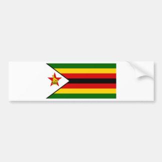 Flag_of_Zimbabwe Pegatina Para Auto