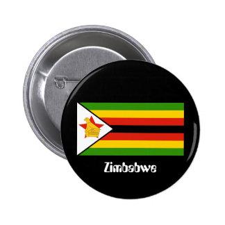 Flag of Zimbabwe Pinback Button