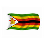 Flag of Zimbabwe Postcards