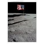 Flag on Moon, Apollo 11, NASA Greeting Card