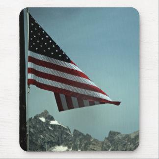 Flag Over Teton Mousepad